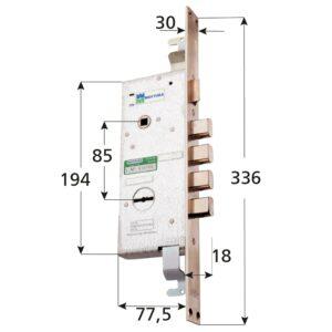 Elettroserrature MOTTURA da ferramenta bossi